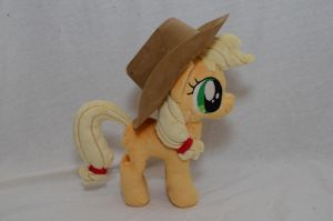 Filly Applejack Plush by makeshiftwings30