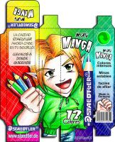 staedtler mini-manga by Cowboy-Fresh