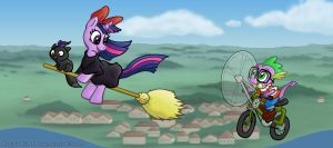 Twily's Delivery Service by Lepus-Marj