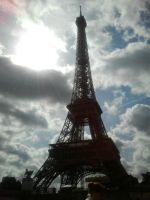 Eiffel tower by MollyMotions