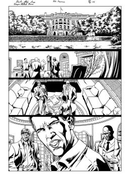 Ultimates Page 1 Inks by michael-bowers
