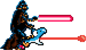 Vader Yoshi PNG by paperbeatsscissors