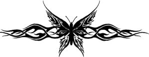 Tribal Butterfly Tattoo by MisterGoodKat