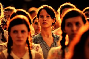 Katniss At Reaping by WhovianForLife