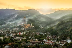 Temple In The Valley by SAMLIM