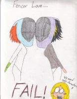Fencing Funnies - Fencer Love by Kit-Kat-Kitt-n