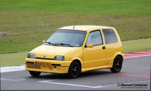 1997 Fiat  Cinquecento Sporting by compaan-art