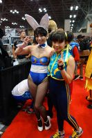 Chunny Bunny and Alpha Chun Li by TixieLix