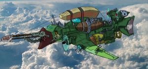 Airship finished by StoryKillinger