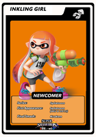 Inkling Girl Newcomer Card by birdman91