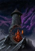 Mage Tower by Bezduch