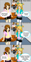 MMD Selfi Comic - Name Switch by brsa