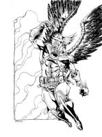 JLA January Hawkman SOTD by RobertAtkins