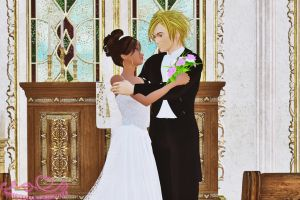 Angelic Lane: Wedding by Aisiko