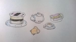 Tea Party by GDowe
