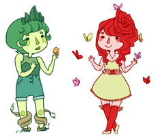 Nature Girlies by kjsbear