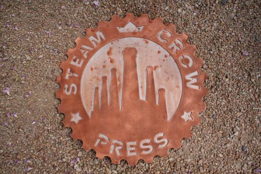 Steam Crow Press Sign for SDCC by SteamCrow