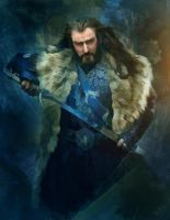 Thorin Oakenshield by olga51275