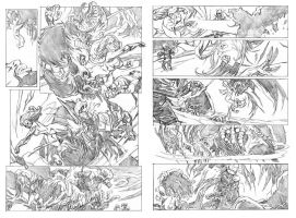 Thunderbolts 146 pgs 17 and 18 by deankotz