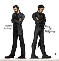 Richard  Armitage as Guy of Gisborne by Anastina91