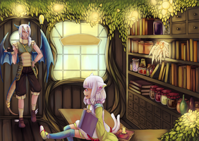VolSa: A visit to the apothecary by Sangcoon
