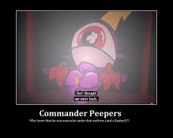 Commander Peepers Flasher by KessieLou