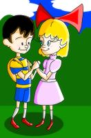 Ness And Paula by ratscout