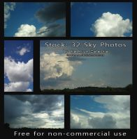 Free Sky stock by Sythgara
