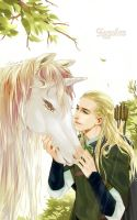 Leglas  by levineh