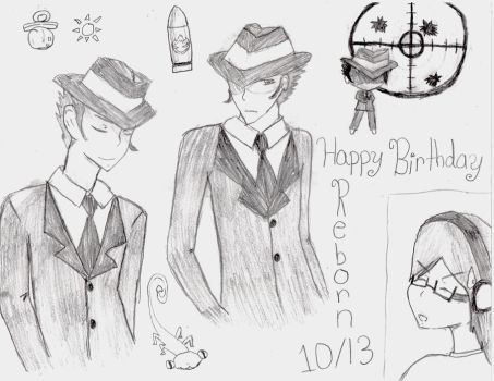 Late Reborn's B-Day Pic! by digibrowser1