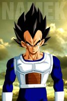 Dragon Ball Z - Vegeta On Namek by altobello02