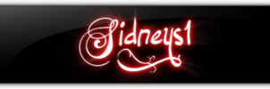 Glossy Signature by Sidneys1