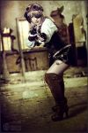 Claire Steampunk VI by RemusSirion