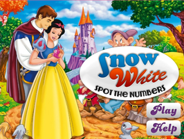 Snow White Spot the Numbers by willbeyou