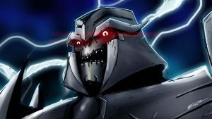 Transformers Prime Megatron sketch by MarceloMatere