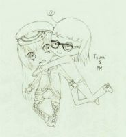 Tsumi and Me by YumeNikky