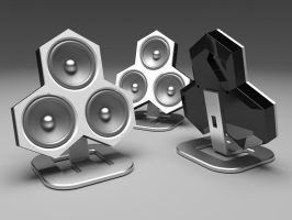 Desktop Speakers by Ruzzy2006