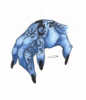 Hand of the Vong by blue-but-beautiful