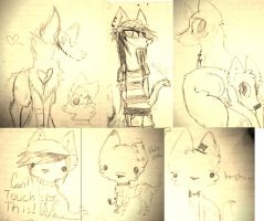 Sketch dump by Powibo