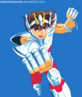 Seiya Poster Preview by EtaminDraconis