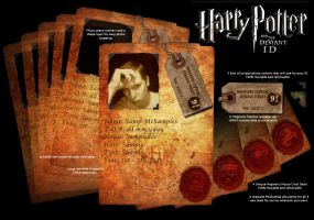 Hogwarts ID Kit by all-one-line