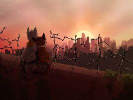 Love in the Wastelands by HermiTheHusky
