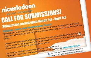 Nickelodeon Artist Program by LoveableHothead