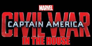 Captain America Civil War in the House Logo by Faxerton30
