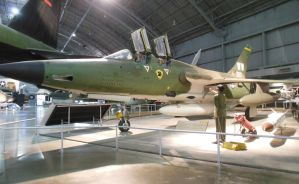 Republic F-105G Wild Weasel III by rlkitterman