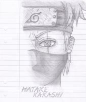 Kakashi Sharingan by Marieella86