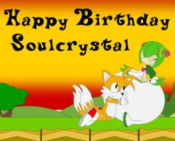 Soulcrystal B-Day Card by Kphoria