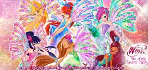 Winx Club Sirenix 2D wallpaper! _Gift for Blog! by AlexaSpears1333