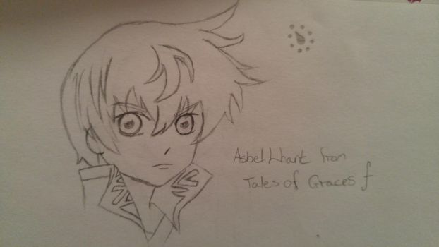 Quick Sketch: Asbel Lhant, Tales of Graces f by sevenequalsoneheart