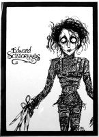 Edward Scissorhands by maddartist83
